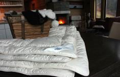 Alpaka Bettdecken und Kissen
